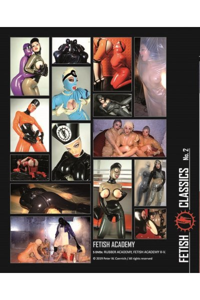 FETISH ACADEMY Collection (5 DVDs)